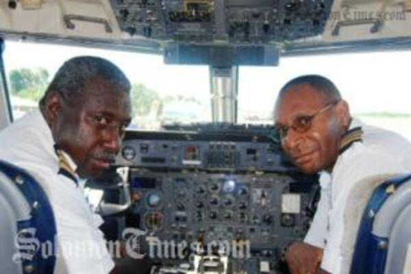 Captain Gibson Galo, the Chief Pilot of Solomon Airlines has recently returned from PNG after some months of training by Airlines PNG.