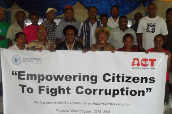 During the workshop, participants discussed a broad range of issues including the nature and impacts of corruption, corruption offences and penalties, how to report corruption and what individual citizens can do to combat corruption.