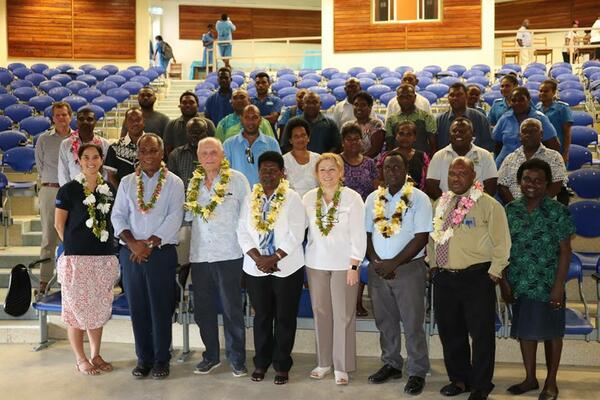SINU officials and its key stakeholders during the launch at SINU.