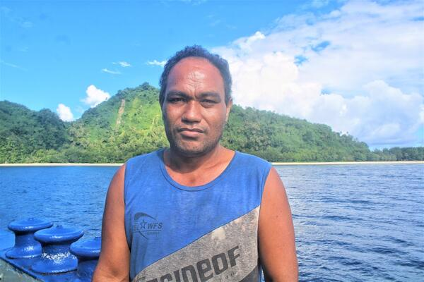 Roto says the cost of transporting the goods to Anuta is very high, since he has to first travel to Santa Cruz just to wait for transport to get him over to Honiara to purchase goods.