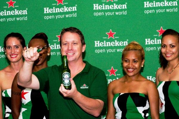 SolBrew general manager Andy Hewson announced his delight at the addition of the world's most international premium beer brand, Heineken®, to the company's portfolio.