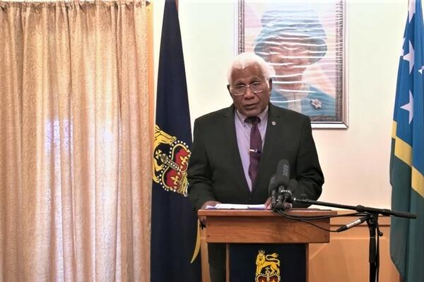 """""""The Government recognizes that the importation of the COVID-19 could be catastrophic for Solomon Islands considering the limited health resources we currently have and that Solomon Islands will only be safe if the COVID-19 does not enter Solomon Islands,"""" Sir Vunagi stated in his declaration."""