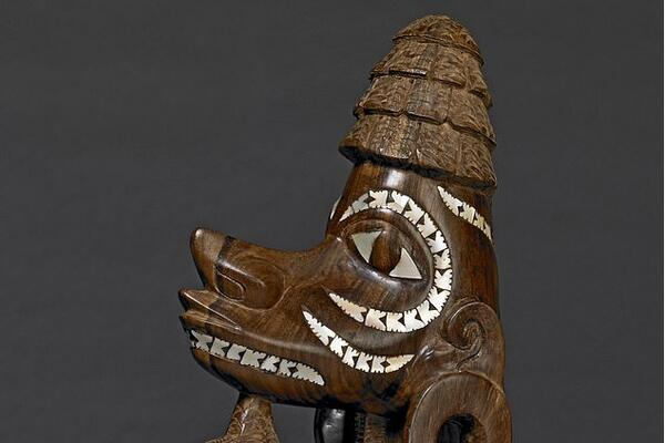 This figure-head (nguzunguzu) of wood with pearl shell inlay from the Solomon Islands will also feature in the exhibition. The British Museum has museum long faced criticism over how it sourced its most prized possessions from former British colonies and beyond.