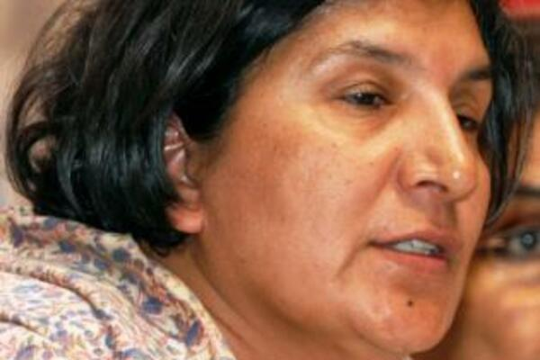 United Nations Special Rapporteur on Violence against Women (VAW), Rashida Manjoo.