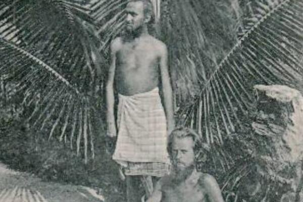 In 1902, August Engelhardt moved from Germany to Kabakon Island in Papua New Guinea where he started a coconut-eating, sun-worshipping sect.
