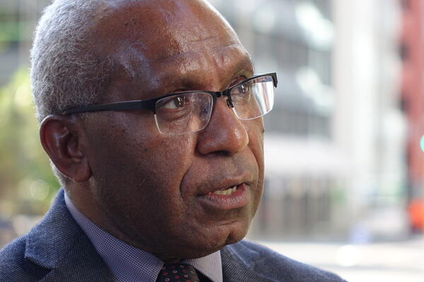 The Secretary-General of the United Liberation Movement for West Papua, Octo Mote, currently in Honiara the summit of the Melanesian Spearhead Group