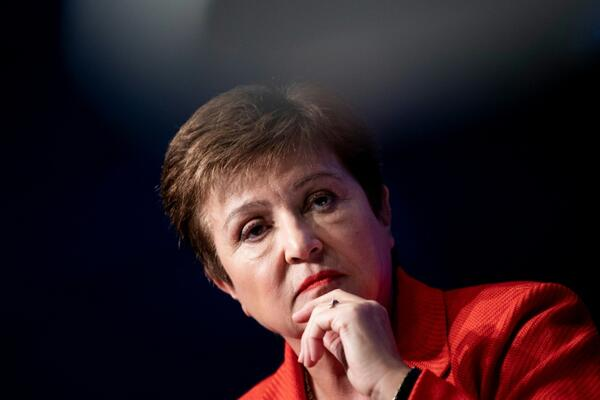 "Head of the IMF, Kristalina Georgieva, said it is now clear that ""we have entered a recession."""