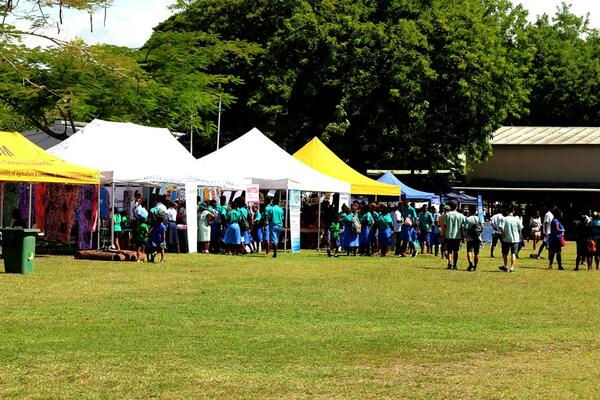 This year's Careers Market was marked with the theme 'Pathway to future Careers', with the one-day event attracting hundreds of students from schools in and around Honiara.