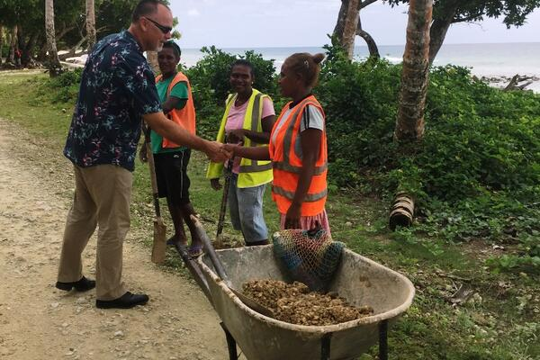 """Malaita's greatest resource is its people and their work ethic. I am excited to see the new opportunities emerging for the Malaitan people now that Gwanaru'u Airport has reopened and the North Road rehabilitation project is nearing completion."""