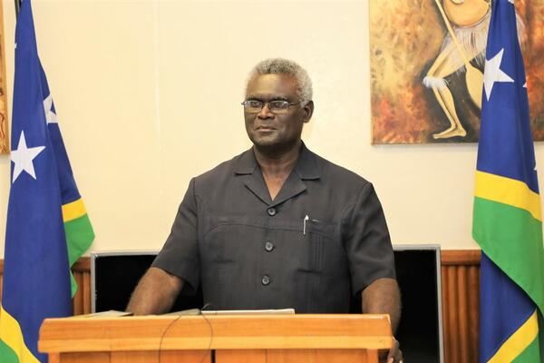 """Investors are reminded to comply with the Laws of the Country"", Sogavare says."