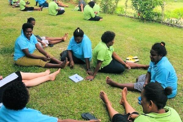 Vanuatu skills partnership strategic planning session.