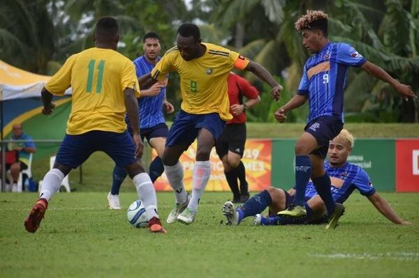 Solomon Islands team captain Benjamin Totori.