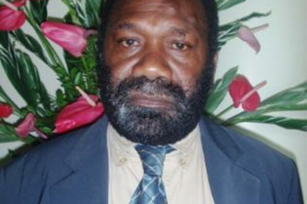 Hon. Johnson Koli, a first term member for East Guadalcanal is also the Minister for Health.