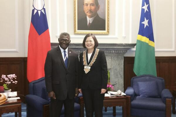 """I look forward to the fulfillment of our desire for enhanced bilateral relations and broadened technical cooperation in the not too distant future,"" says PM Sogavare."