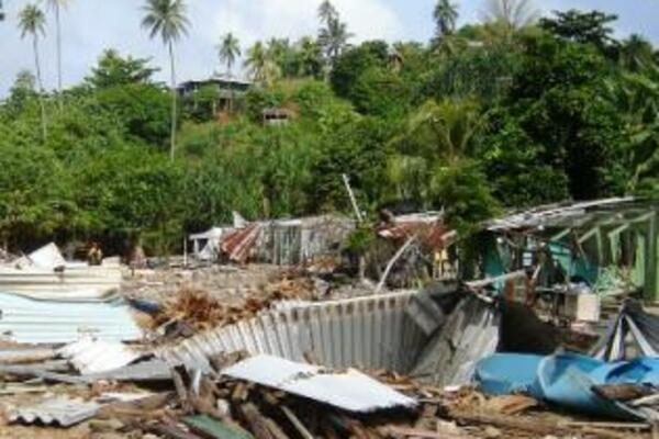 The report stated that a year after the disaster, some of the relief assistance did not reach any of Choiseul's tsunami victims.