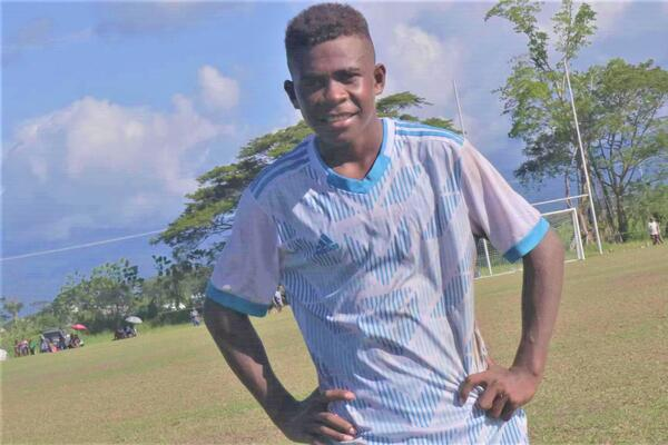 """""""Though I may have a poor background, I believe football can change that, I will continue and develop my skills in football when I return home. I know that if I maintain my passion in the game my dreams in football can be achieved,"""" a quietly confident Weni said."""