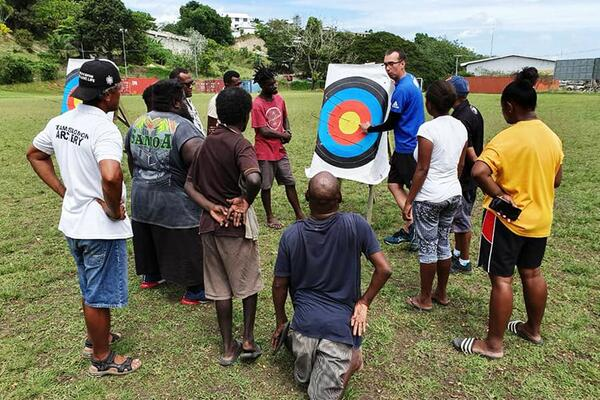 As an activity – and like much of the world – archery is very much a part of the people of the Solomon Islands as Traditional bows are still used for hunting and the bow and arrow has long been a cornerstone of food collection.