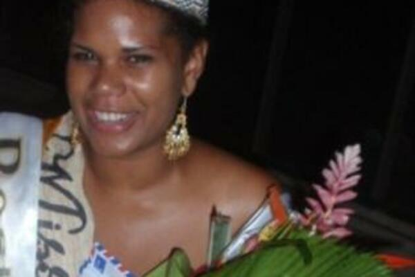 Beauty pageant is beyond beauty: Millicent Barty, winner of the Miss Solbrew, Sports and Culture 2009.