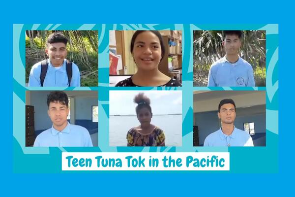 """Engaging in meaningful conversations with young people, who make up more than half of our population in the Pacific, is key to improving understanding of one of the few primary industries accessible to all Pacific Island economies,"" said FFA Director General Dr Manu Tupou-Roosen."
