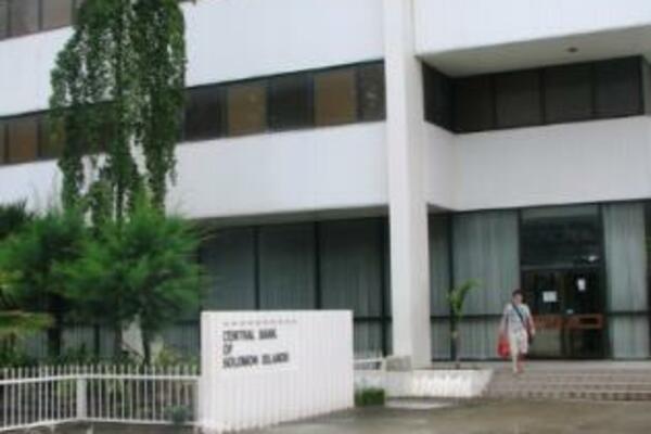 Office of the CBSI in Honiara, Solomon Islands.