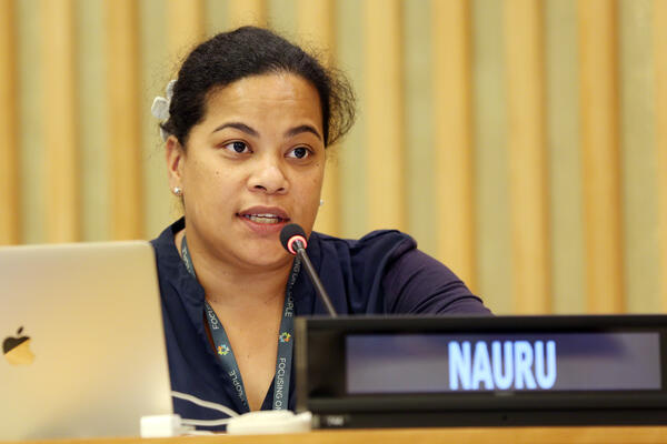 Speaking on behalf of the Forum chair, Nauru's Deputy Permanent Representative to the United Nations in New York, Margo Deiye, highlighted that Forum members were ready to do their part to conclude the negotiations by 2020.
