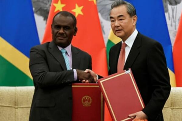 Solomon Islands Formally Establish Diplomatic Relations With China