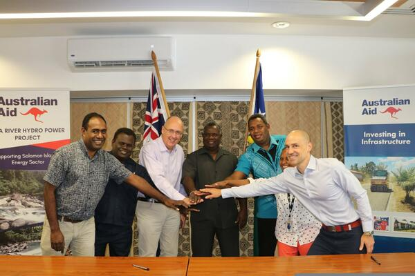 Minister Tovosia said the Tina River Hydropower Project continues to remain a priority project for the Solomon Islands.
