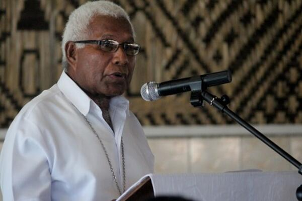 """In our country, the Solomon Islands, it is unfortunate that corruption has taken precedence over general order, the normal administrative procedures, and, to say the least, there are elements of corruption even in our political system,"" Archbishop Vunagi said."
