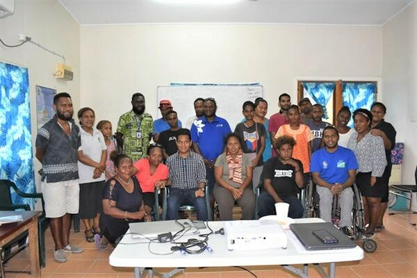 """""""The training workshop was very useful for the participants to better understand how they can effectively use COVID-19 information to raise awareness amongst groups of people with special needs across the country."""""""