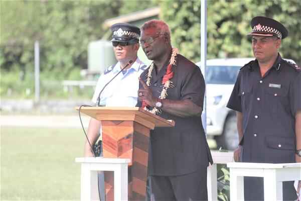 """My good people of Lauru, prosperity require sacrifice, dedication and unity with one another. Unity gives us purpose, makes our country resilience and strong. We must continue to learn and appreciate each other and live in harmony,"" Prime Minister Sogavare said."
