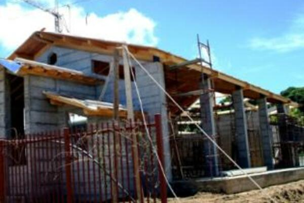 Solomon Islands experiencing an increase in foreign investment, new buildings are being built to accommodate the increase.