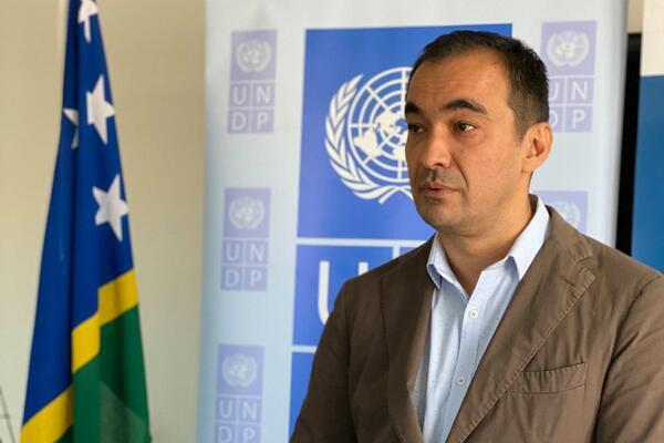 The UNDP Solomon Islands Country Manager, Berdi Berdiyev.