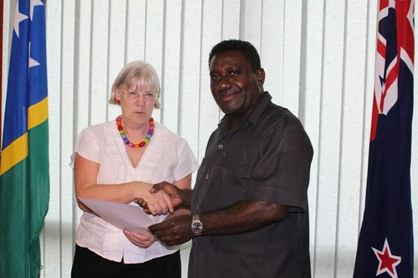 Mr. Lilo said he appreciated the wealth and knowledge Ms. Crawshaw has of Solomon Islands as she has served as deputy high commissioner in the country in the past.