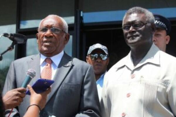 """""""To all our traditional partners, and overseas friends, and RAMSI (Regional Assistance Mission to Solomon Islands), we all recognize the challenge that lies ahead in building a stronger Solomon Islands,"""" he said."""