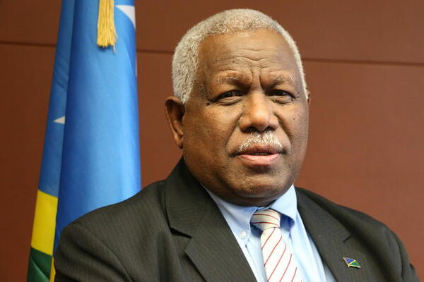 Caretaker Prime Minister Rick Hounipwela has retained his seat of Small Malaita.