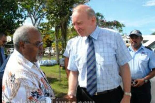 Mr Wilson thanked Sir Michael for Papua New Guinea's strong and continuing support for RAMSI.