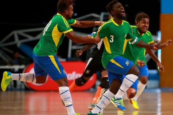 """Whenever a Solomon Islands team plays, we go crazy, because the reality back home is everybody knows who we are. Every single one,"" Ragomo said after their 4-2 defeat to Costa Rica."