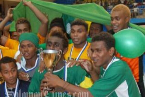 Solomon Kurukuru defended their Oceania title in convincing fashion scoring 32 goals and conceding only seven in their four matches.