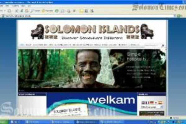 The new look website, www.visitsolomons.com.sb is visually stunning and is very user friendly.