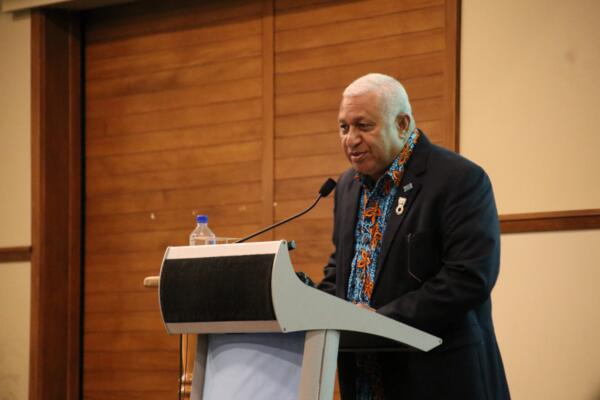 Launching the Strategy, Hon. Josaia Voreqe Bainimarama said the document is a key influencer for the shared prosperity and security of Blue Pacific, mirroring the Paris Agreement processes and aligning with the sustainable development agendas of the Pacific island countries.