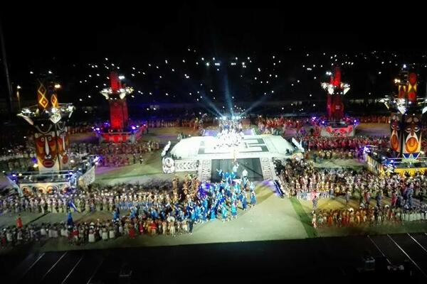 The 2015 Pacific Games opened in spectacular style in Port Moresby, PNG.