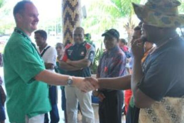 In farewelling the workers, Mr Anderson emphasised that the seasonal workers are ambassadors for Solomon Islands.