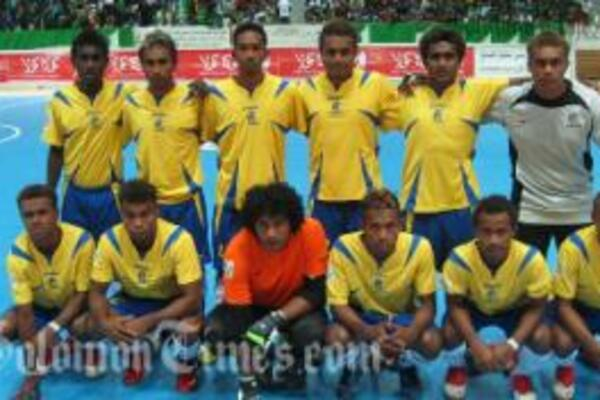 Kurukuru team made a heroic introduction at the Alfateh Intercontinental Futsal cup.