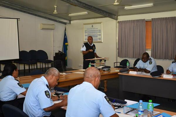 Provincial Police Commanders (PPC) meeting currently ongoing in Honiara.