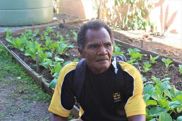 """""""It is my fourth week now in Honiara. Every process costs money. It has become a challenge for me since I do not have enough money. I am not literate so I have to ask someone to write my proposal."""""""