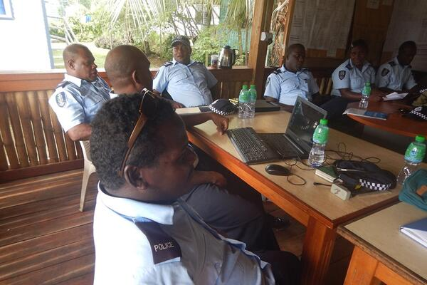 Police Trained to Conduct RBT on Land and Sea