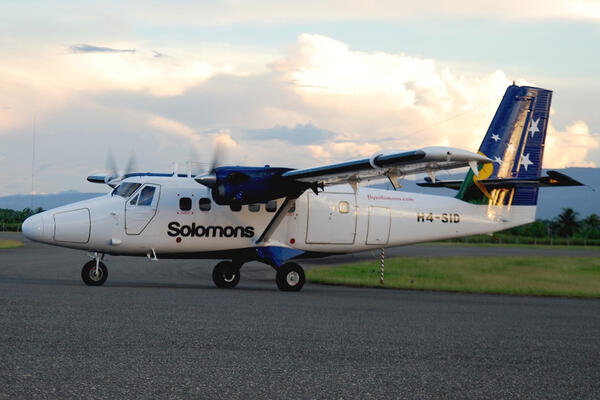 Solomon Airlines Helping Tourism Accommodation Development