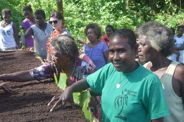 The Tiaro Bay Women's Farm Tools Project has provided 30 families with farming tools to develop a sustainable, self-sufficient agricultural group.