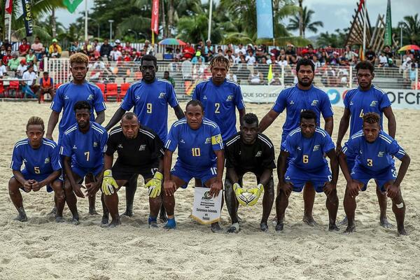 The Solomon Islands National Olympic Committee is an affiliate and will be sending the Bilikiki beach soccer team.