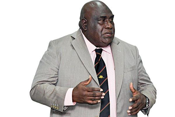 The Parliamentary Member for South Bougainville Timothy Masiu.